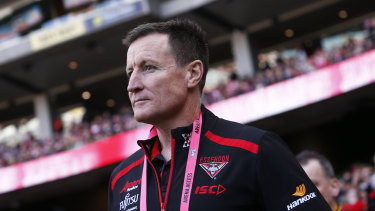 Unruffled: Essendon head coach John Worsfold took the goal review controversy in his stride after the narrow win over Gold Coast.