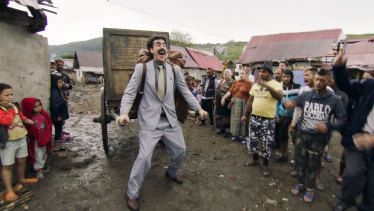 Though it's still outlandish, social change means the new Borat film doesn't have quite the same impact as the original did in 2006.