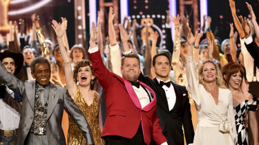 The ceremony was hosted by James Corden.