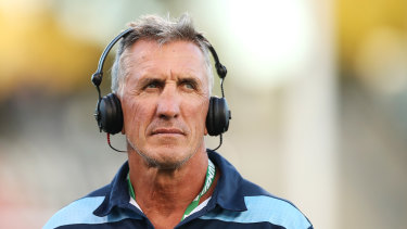Waratahs coach Rob Penney has been sacked.