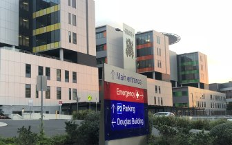 Stroke patients admitted to Royal North Shore Hospital are transferred elsewhere if they arrive after 3pm.