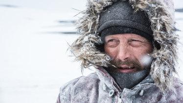 Mads Mikkelsen braves the elements in Arctic.