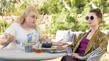 Rebel Wilson stars as Penny Rust and Anne Hathaway as Josephine Chesterfield in The Hustle, a comedy about a pair of mismatched con artists on the French Riviera. The film is a female-skewed remake of Dirty Rotten Scoundrels.