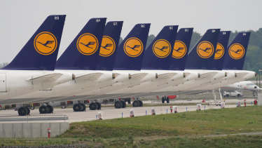 The deal sees the German government take a 20 per cent stake in the airline.