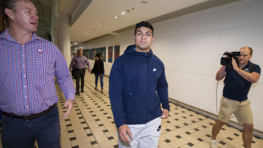 Broncos star David Fifita arrives back in Brisbane on Tuesday morning after his release from a Bali jail.