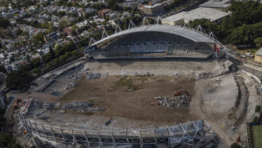 Allianz stadium was demolished despite still being usable.