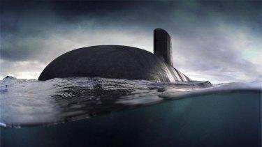 Australia's future submarine, the as-yet unbuilt Shortfin Barracuda.
