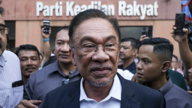 Anwar Ibrahim is the founder and president of the People's Justice Party.
