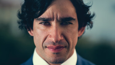 When Johnathan Thurston was lectured about Captain Cook in school, it didn't sit right with him.