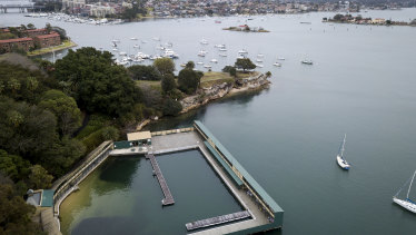 The restoration of Dawn Fraser Baths in Balmain has been plagued by delays.