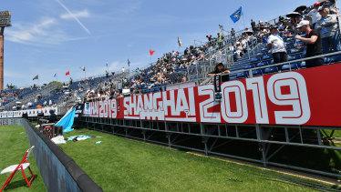 Jiangwan Stadium in Shanghai.