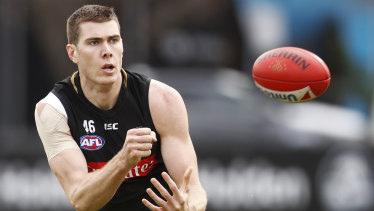 Essendon have shown interest in Collingwood's Mason Cox.