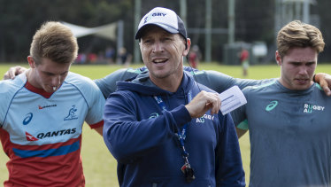 Jason Gilmore is a leading contender for the Waratahs job.