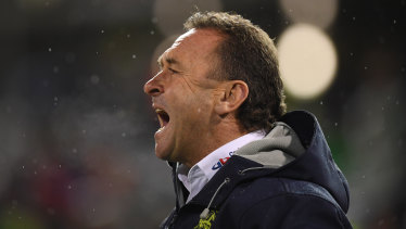 Passion: Ricky Stuart's style is heart-on-sleeve.