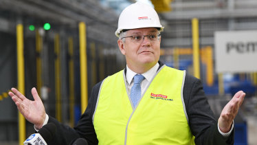 Prime Minister Scott Morrison will announce funds for manufacturers to target priority development areas.