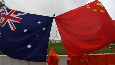 Chinese investment in Australia fell to a 10-year low in 2019.