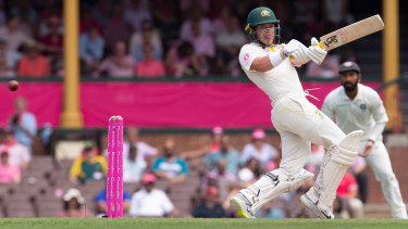 Pulling his weight: Marcus Harris can expect to be in the calculations to open in the Ashes.
