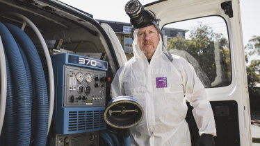 Bryan Norris is one of a growing number of biological cleaners.