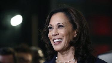 Kamala Harris rose to national prominence as a senator for California.