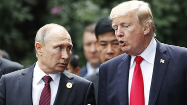 Vladimir Putin and Donald Trump will meet in Helsinki on July 16.