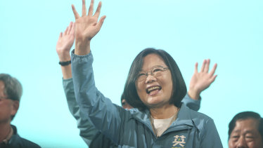 Tsai Ing-wen is an educated intellectual who became the nation's first female president after breaking the China-friendly KMT's long hold on power four years earlier.