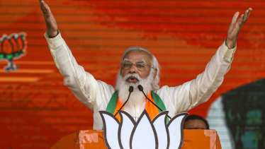 Indian Prime Minister Narendra Modi is an avid Twitter user and enjoys a following of over 69 million.