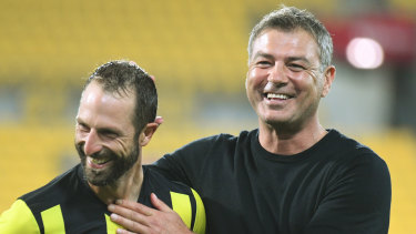 Mark Rudan (right) is widely expected to take the coaching job at Western United.