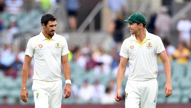 Mitchell Starc (left) needs to find form.