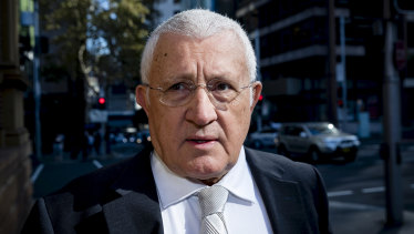 Ron Medich arrives at court last week.