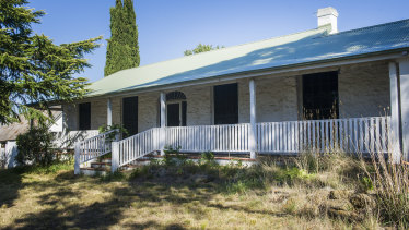 Picture of the more than 140-year-old Gold Creek Homestead which is now on the market