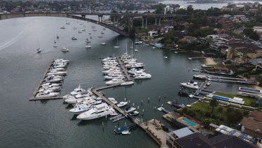 A proposal to expand the Gladesville Bridge Marina has attracted widespread community concern.