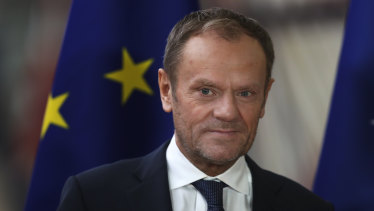 """I've been wondering what that special place in hell looks like,"" said Donald Tusk last week, ""for those who promoted Brexit"" without a plan."