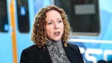 State Gaming Minister Melissa Horne.