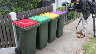 Most households will soon have to deal with four bins.