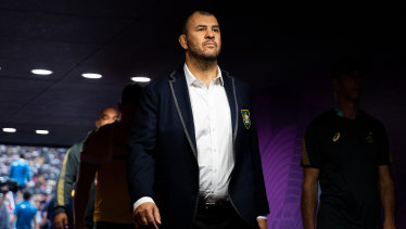 Michael Cheika's final two years as Wallabies coach were a disaster.