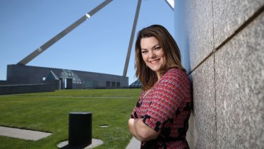 """""""I knew it would be tough and I knew I'd have to be strong"""": Sarah Hanson-Young."""