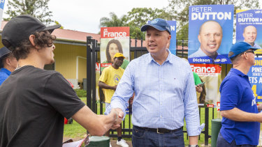 Home Affairs Minister Peter Dutton has polled strongly.