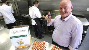 Geoffrey Sondergeld is a director of Australian Pasteurised Eggs.