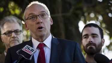 New South Wales opposition leader Luke Foley.