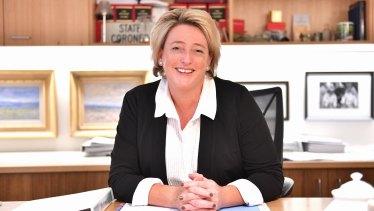 Victoria's State Coroner Sara Hinchey.