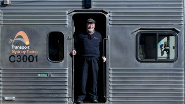 Railworker Paul Linney drove the S-Sets from 1979 to 2009.