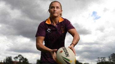 Brisbane Broncos NRLW centre Meg Ward.