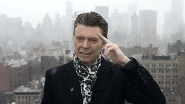 David Bowie, seen here in one of the last photos before his death in January 2016, prepared a list of the writers who had most influenced him during his life.
