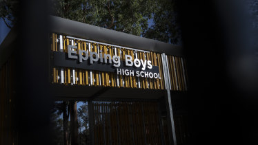 Epping Boys High School has been closed for one day after a student tested positive for coronavirus.