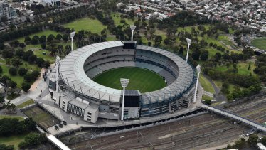 The government has confirmed there is a small amount of cladding on the MCG.