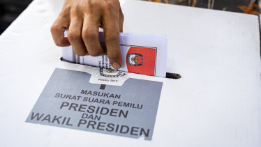Millions of people cast their vote in the election.