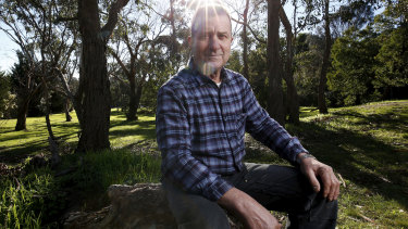 George Imrei does not want a playground in bushland near his home.