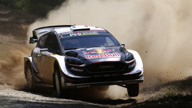 Frenchman Sebastien Ogier has been clear run to a sixth-straight title.