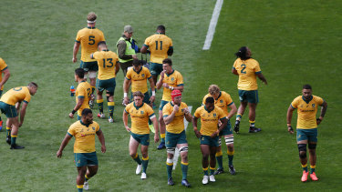 The Wallabies suffered a 27-7 defeat in Auckland in game two of the Bledisloe Cup series.