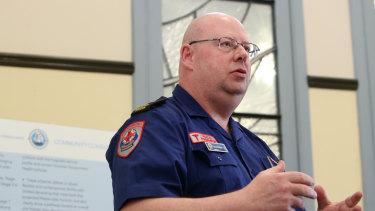 Ambulance Victoria chief executive Tony Walker.